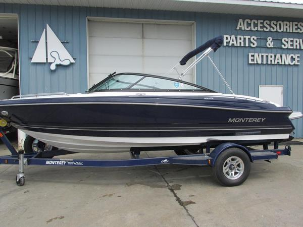 New Monterey 204FS Bowrider Boat For Sale