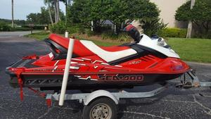 Used Sea Doo RXT Waverunner High Performance Boat For Sale