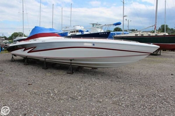 Used Scarab 38C High Performance Boat For Sale