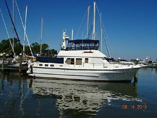 Used Symbol Sundeck Trawler Boat For Sale