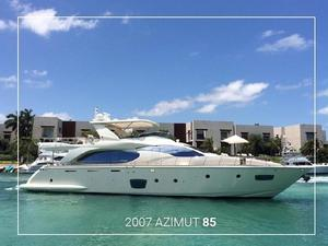 Used Azimut 85 Motor Yacht For Sale
