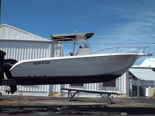 Used Sea Fox 256 CC High Performance Boat For Sale