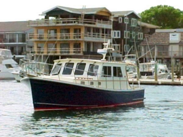 Used Duffy Atlantic Boat Bhm 36' Downeast Fishing Boat For Sale