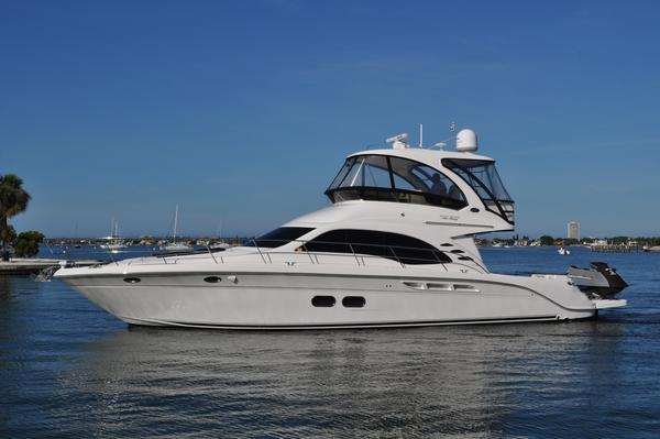 Used Sea Ray 52 Sedan Bridge Sports Cruiser Boat For Sale