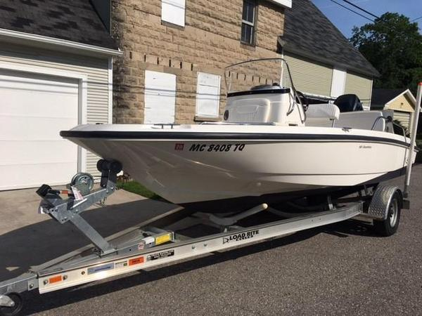 Used Boston Whaler Dauntless 18 Freshwater Fishing Boat For Sale