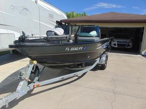 Used Smoker Craft Pro Angler 171 Freshwater Fishing Boat For Sale