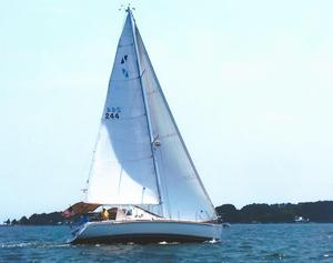 Used Sabre 386 Shoal Draft Cruiser Sailboat For Sale