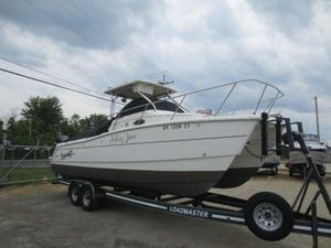 Used Sportcraft 27 Cat Freshwater Fishing Boat For Sale
