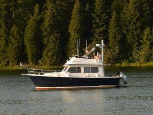 Used Sabreline 34 Fast Trawler Boat For Sale