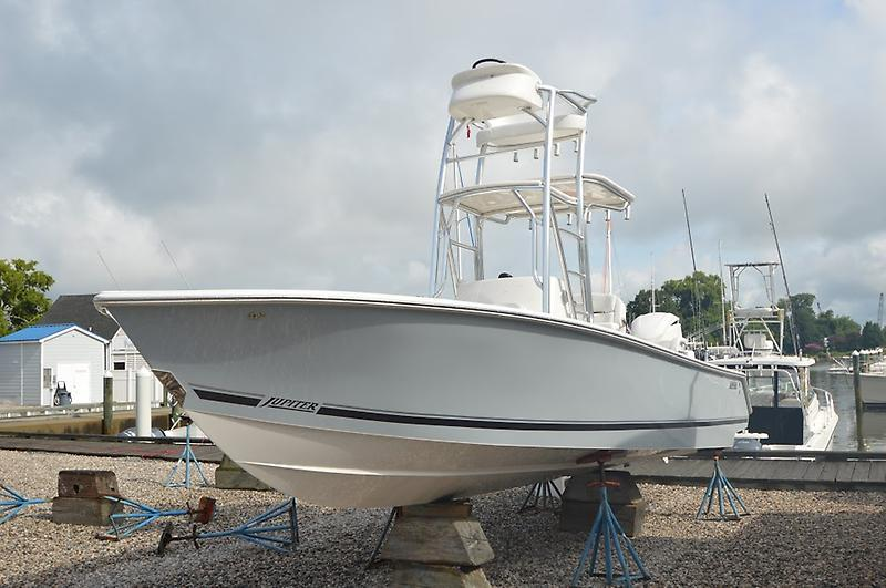 2018 New Jupiter 25 Bay Center Console Fishing Boat For