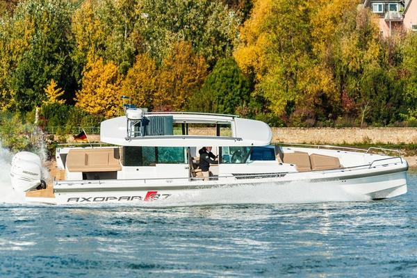 New Axopar 37 AC Aft Cabin Boat For Sale