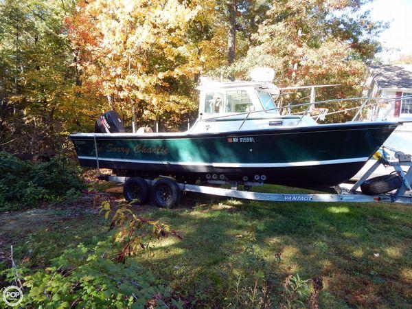 2006 used steiger craft 25 chesapeake pilothouse boat for for Used steiger craft for sale