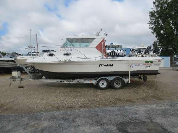 1998 used sportcraft 272 freshwater fishing boat for sale for Fishing boats for sale in ohio