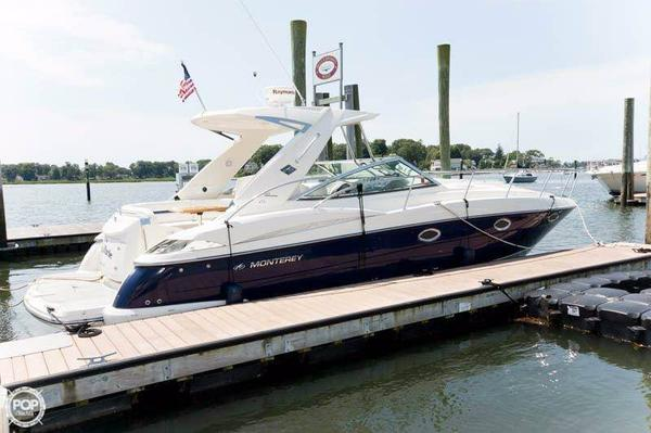 Used Monterey 350 Sportyacht Express Cruiser Boat For Sale