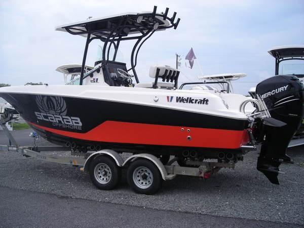 New Wellcraft 222 Scarab Fisherman222 Scarab Fisherman Center Console Fishing Boat For Sale