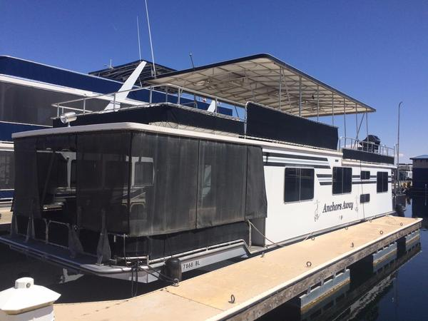 Used Sumerset Custom HouseboatCustom Houseboat House Boat For Sale