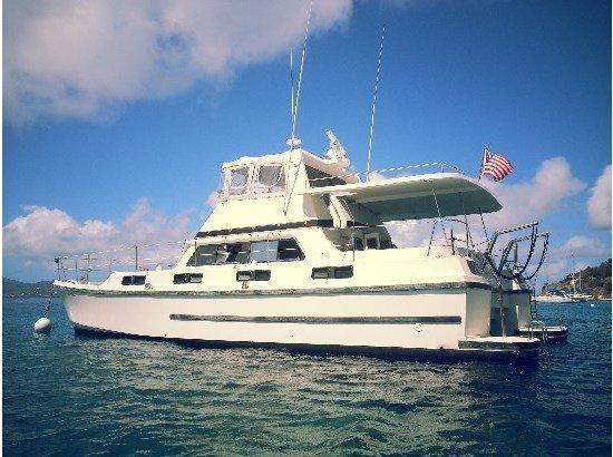 Used C&c 46 Power Catamran Power Catamaran Boat For Sale