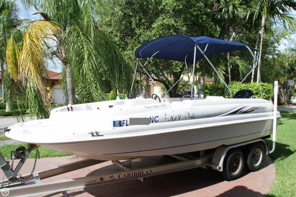 Used Starcraft Sea Star 1915 OB Deck Boat For Sale