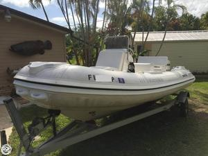 Used Nautica Wide Body Inflatable Boat For Sale