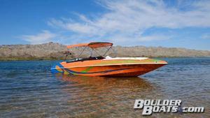 Used Domn8er 23 V Walk-Through Open Bow High Performance Boat For Sale