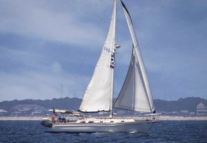 Used Gulfstar Aft Cockpit Sloop Sailboat For Sale
