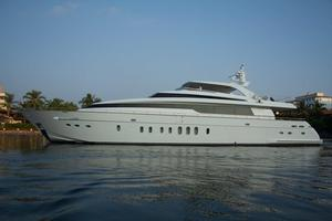 Used Sanlorenzo Sl108 Flybridge Boat For Sale