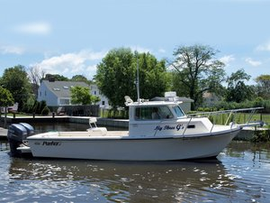 Used Parker 2820 XL Downeast Fishing Boat For Sale