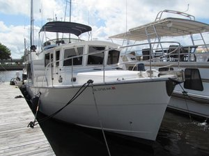 Used Mariner-Helmsman Seville Pilothouse Trawler Boat For Sale