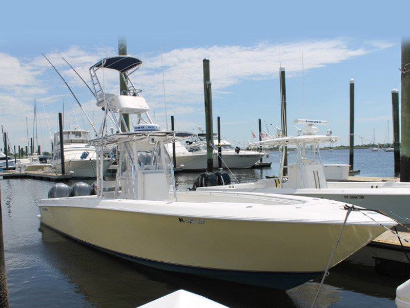 2006 used contender re powered center console center for Fishing boats for sale in ny