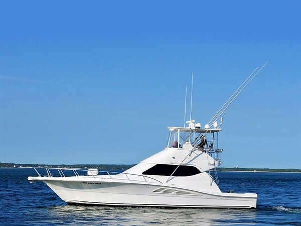 Used Rampage 45 Convertible Cruiser Boat For Sale