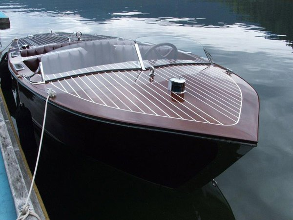 Used St. Clair Boatworks Barrelback Runabout Cruiser Boat For Sale