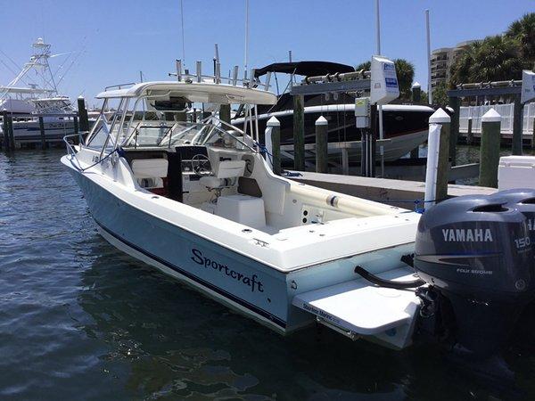 Used Sportcraft 252 Sportfish Walkaround Fishing Boat For Sale
