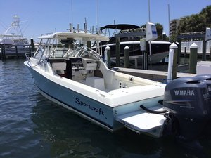 Used Sportcraft 252 Sportfish Walkaround Fishing Boat For Sale