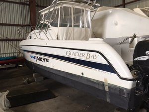 Used Glacier Bay 2670 Island Runner Power Catamaran Boat For Sale