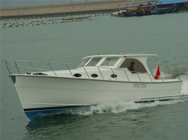 Used Mariner Seville 35 Downeast Fishing Boat For Sale
