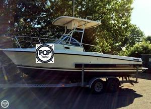 Used Shamrock 220 Adventurer Walkaround Fishing Boat For Sale