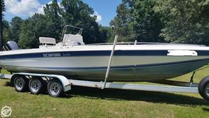 Used Scarab 26 Sportster Center Console Fishing Boat For Sale
