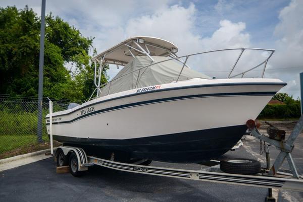 Used Grady-White 22 Seafarer Cuddy Cabin Boat For Sale