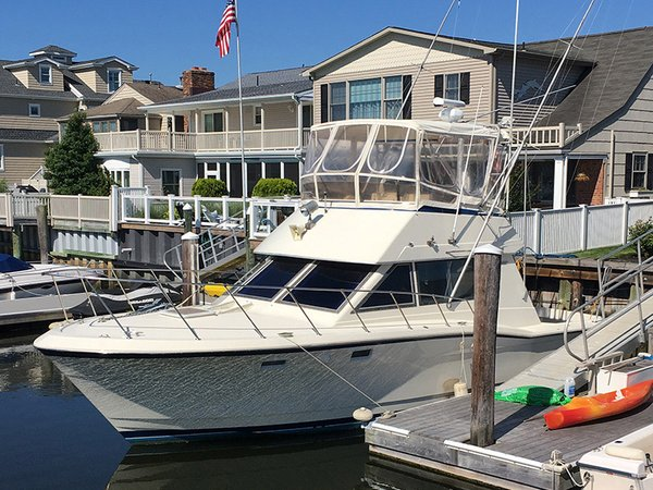Used Hatteras Sport Fisherman Cruiser Boat For Sale