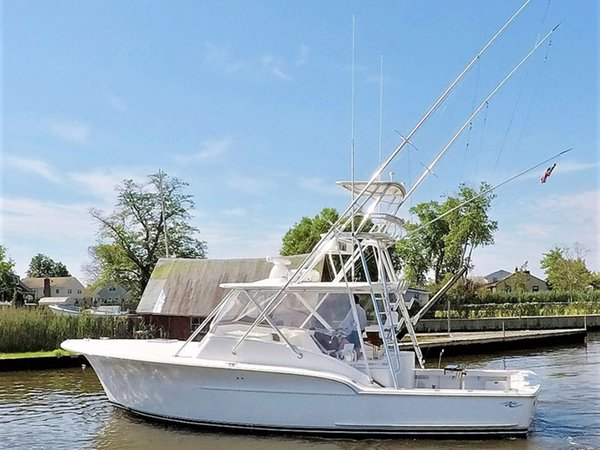 Used Jersey Cape 36 Devil Express Cruiser Boat For Sale