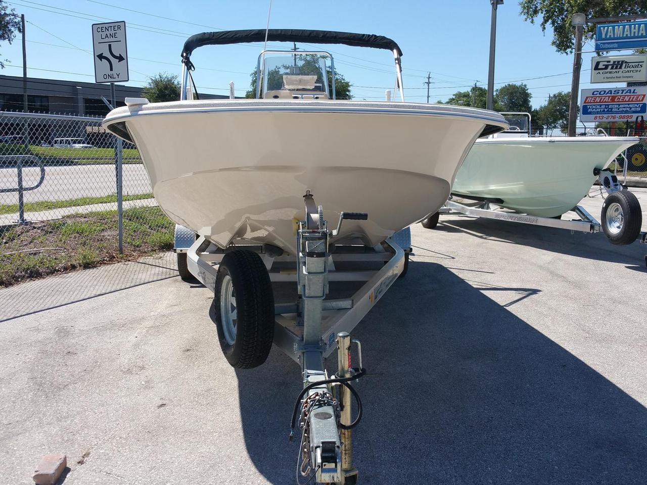 2015 Used Carolina Skiff Dlv 218 Bay Boat For Sale