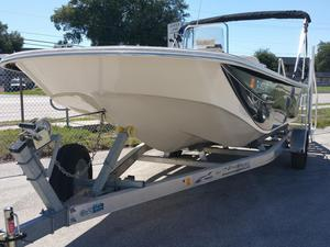 Used Carolina Skiff DLV 218 Bay Boat For Sale