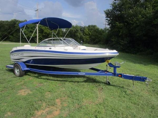 Used Tahoe Q4 SF Ski and Fish Boat For Sale