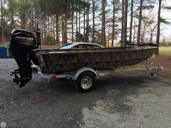 Used Lowe 1756 Roughneck Bass Boat For Sale