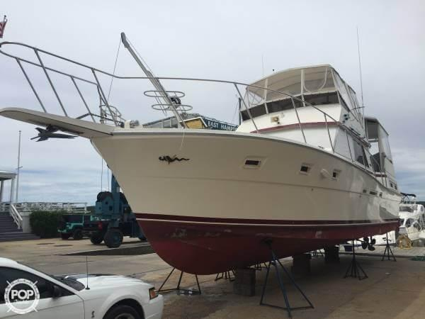 1984 Used Viking 44 Motor Yacht Aft Cabin Boat For Sale