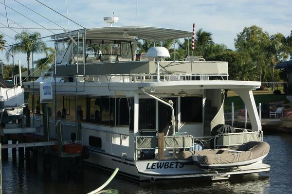 Used Monticello 60 X 16 Coastal Cruiser House Boat For Sale