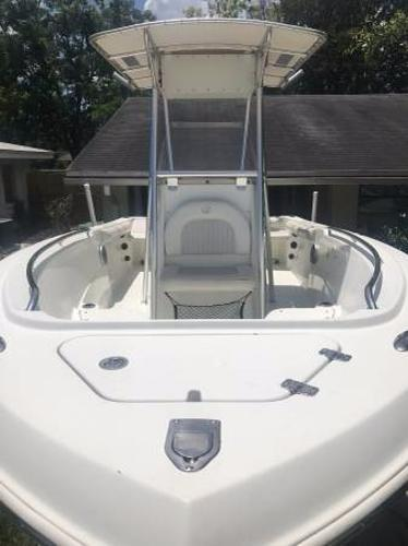 Used Sailfish 218 CC Saltwater Fishing Boat For Sale