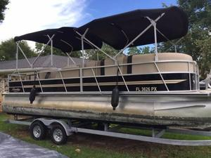 Used Encore 240 Cruise Pontoon Boat For Sale