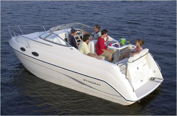 Used Stingray 240 CS Cruiser Boat For Sale