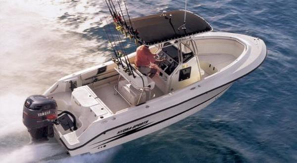 Used Hydra-Sports 2390 CC Vector Saltwater Fishing Boat For Sale